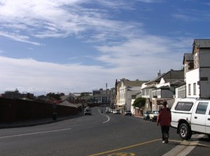 The Main Road of Simon's Town