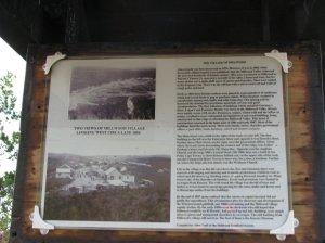 Description of old Millwood village