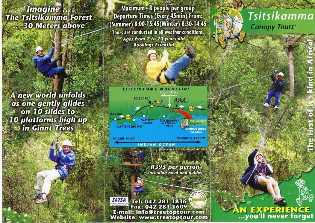Hang gliding - Tsitsikamma Canopy Tours