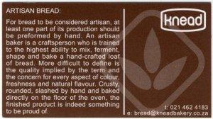 Knead bakery - bread handmade by artisans