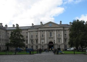 Front Square at Trinity College