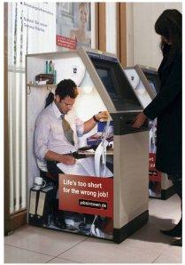 An automatic teller machine