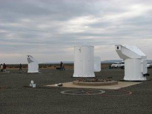 The antenna pedestal