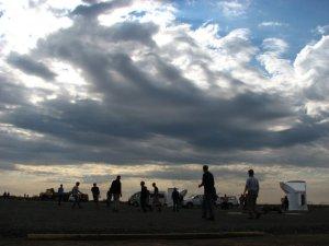 A very dramatic sky