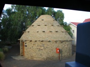 Corbelled house