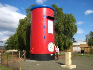 The giant red postbox of Calvinia