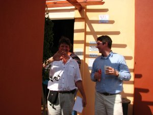 Chris and Richard