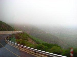 Descending Van Rhyns Pass