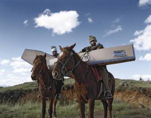 Coffins in Lesotho