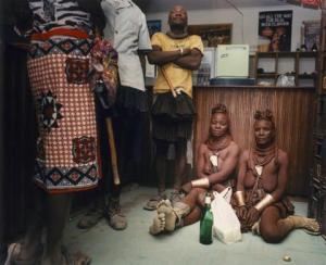 Himba in bottlestore