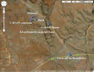 Klerefontein support base