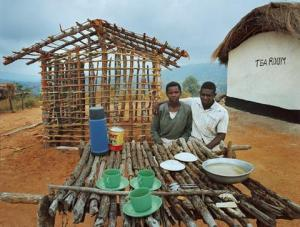 Tearoom in Tanzania