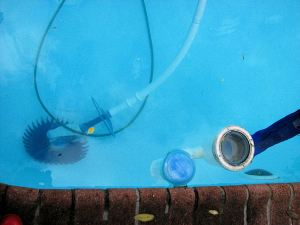 Siphoning The Pool Or Not Grains Of Sand