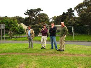 Philip, Richard, Japie and Willem