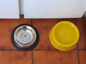 Tuffy's food bowl