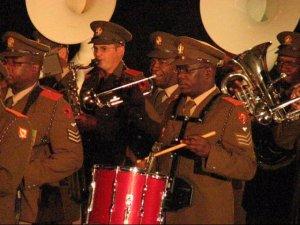 25 SA Army band