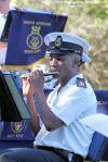CPO Lindela Madikizela on the flute
