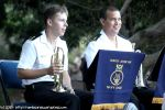 AS Steven Lyons and AS Patrick Kays on cornets