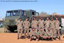 Cape Field Artillery - group photo