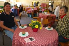 Refreshments are served at the Tea Terrace in the Methodist Church Hall