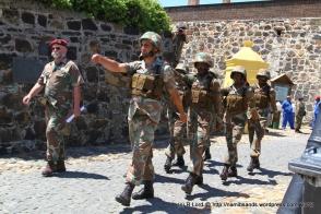 The participants in the Mortar Run