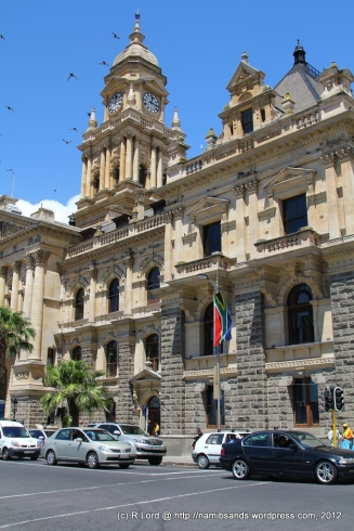 The beautiful City Hall in Darling Street