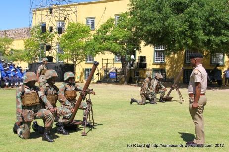 Mortar run practice