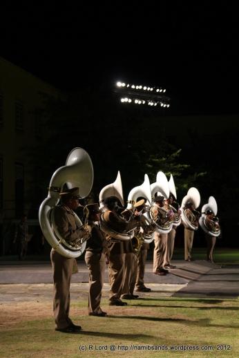 A row of tubas