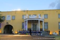 Westcott Primary School start off the pre-show performance