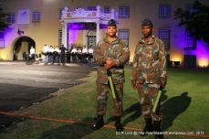 Ushers from the SA Air Force