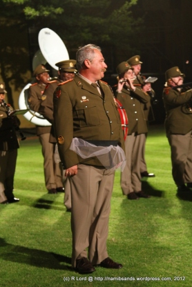 One of the elegant dancers of the SA Army Band Kroonstad