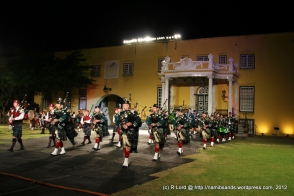 The Drums and Pipes of the Cape Town Highlanders