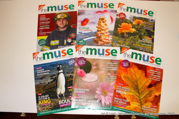Issue 13 (November 2011) to Issue 18 (May 2012)