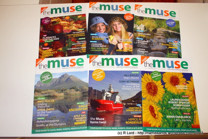 Issue 19 (June 2012) to Issue 24 (November 2012)