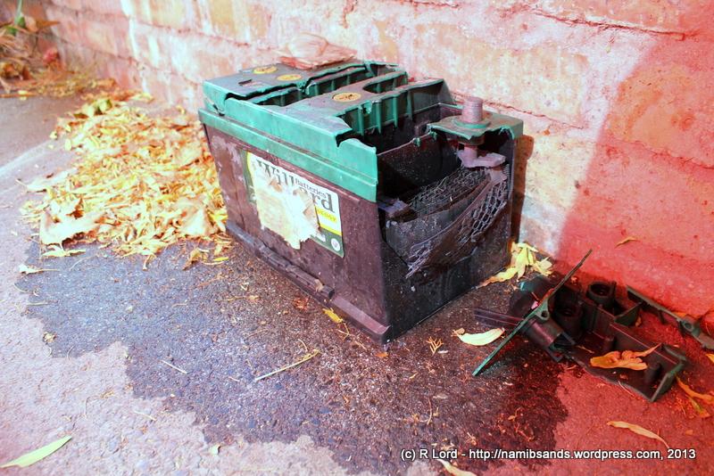 What Does Battery Acid Look Like Ka-BOOM!! So a car bat...