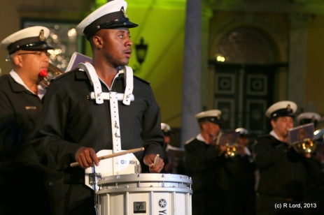 SA Navy drummer
