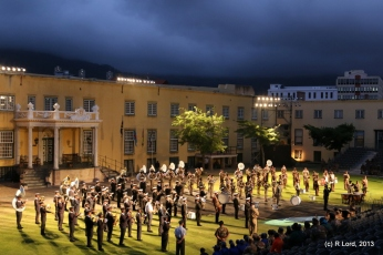 Massed military bands