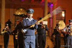 The drum major of the SA Air Force Band is awesome!