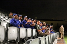 Ushers from Chrysalis Academy enjoying the show