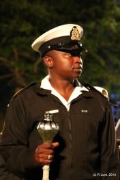SA Navy Drum Major