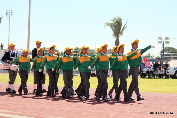 Hyacinth Primary School of Lentegeur, Mitchell's Plain, looking very sharp!