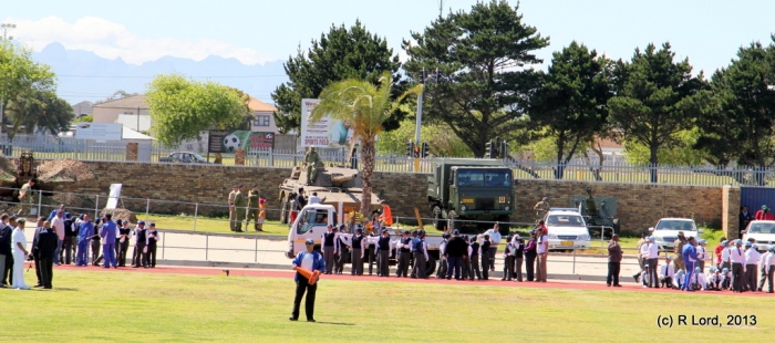 Vygieskraal Stadium in Athlone hosts the 2013 Marching Drill Festival