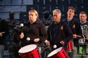 Cape Town Highlanders drummers