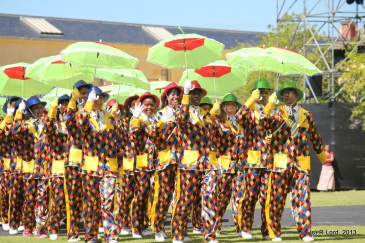 The Cape Town Entertainers do their minstrel display