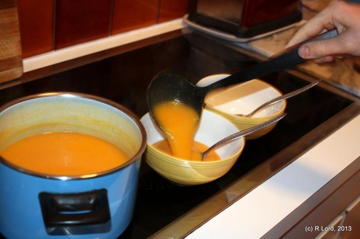 Soup - yum!