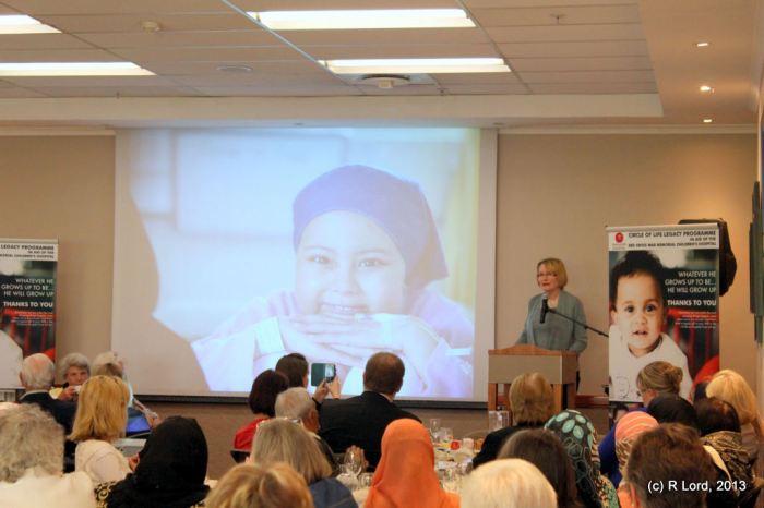 Premier Helen Zille delivering her keynote address