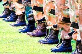 Shiny boots!