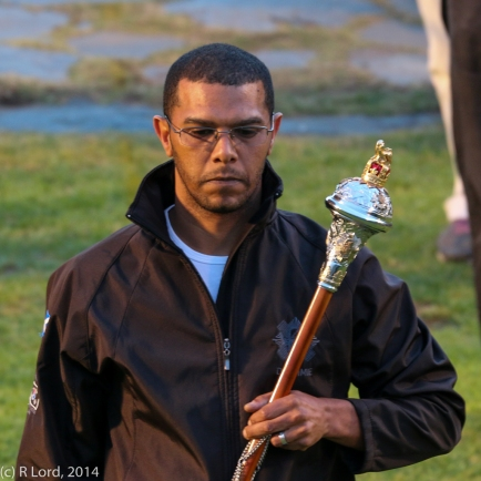 Drum Major of the Cape Town Highlanders