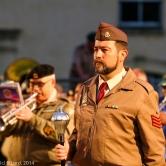 Staff Sergeant Daniel Lemos, Drum Major of the SAMHS Band