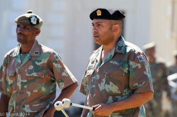 WO2 Jerome Mecloen of the SA Army Band Western Cape